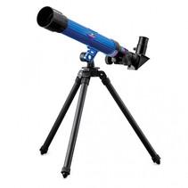 Telescoop 19 x 50 x 7.5 cm blauw/ zwart