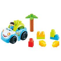 speelset Blocks junior 22 cm groen/wit/blauw 4-delig