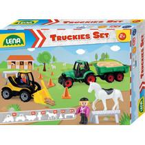 boerderijset junior 38,5 x 10 x 28,5 cm 13-delig