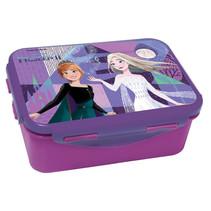 broodtrommel Frozen II meisjes 17 x 12 cm paars