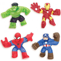 speelfiguur Superhelden junior 29 x 31,4 cm 4 stuks