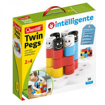 bouwspel Twin Pegs junior 16-delig