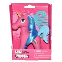 mini-unicorn meisjes 10,5 cm roze 2-delig