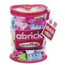Abrick bouwblokken roze 50-delig