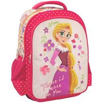 rugzak Rapunzel meisjes 43 x 32 cm polyester roze