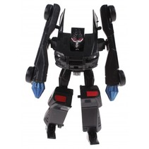 Roboforces transformation robot zwart 10 cm
