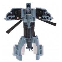 Roboforces transformation robot grijs 10 cm