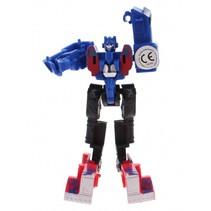 Roboforces transformation robot blauw 10 cm