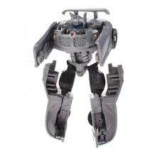 Roboforces transformation robot donkergrijs 10 cm