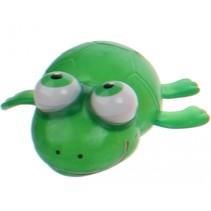 Squishy schildpad met bewegende ogen 9 cm groen