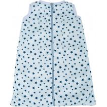 poppenslaapzak meisjes 35-45 cm katoen lichtblauw