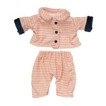 outfit Baby Stella 30,5 cm roze textiel 2-delig