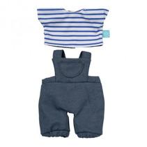 outfit Baby Stella 30,5 cm textiel blauw 3-delig