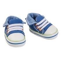 poppensportschoentjes voor een pop van 38-45 cm blauw