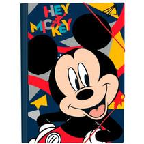 elastomap Mickey Mouse junior 35 x 25 cm donkerblauw