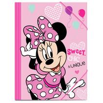 elastomap Minnie Mouse junior 35 x 25 cm karton roze