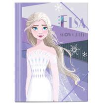 elastomap Frozen 2 junior 35 x 25 cm karton paars