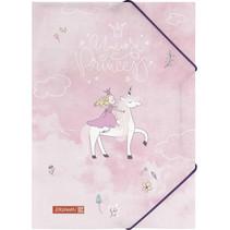 elastomap Unicorn Princess meisjes A4 papier roze