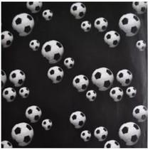 kaftpapier voetbal junior 50 x 500 cm zwart/wit