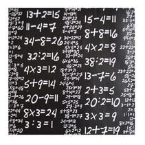 kaftpapier wiskunde junior 50 x 500 cm zwart/wit