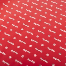 kaftpapier 70 x 100 cm rood 2 stuks