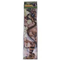 speeldier slang junior 40 cm zwart/beige