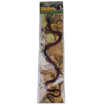 speeldier slang junior 40 cm zwart/bruin