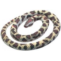 speeldier python 66 cm beige/bruin