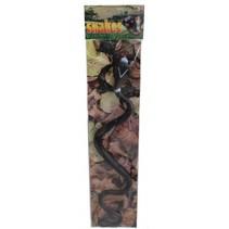 slang zwart 40 cm