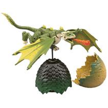 draak Game of Thrones junior 10 cm groen 2-delig