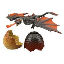 draak Game of Thrones junior 10 cm bruin 2-delig