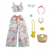 poppenkledingset Fashion Storytelling multicolor 9-delig