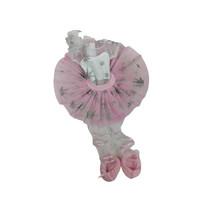 tienerpopkleding Sofy Ballerina meisjes textiel roze