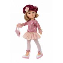 tienerpop kleertjes Sofy junior vinyl roze