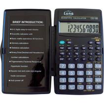rekenmachine CS-180 30 x 30 cm donkerblauw