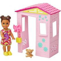 speelset Babysitter Skipper meisjes roze 5-delig