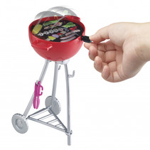 minispeelset Barbecue junior rood 6-delig