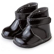 pop-accesoire schoenen meisjes textiel/kunstleer zwart