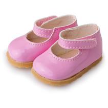 pop-accesoire schoenen meisjes kunstleer/textiel roze