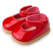 pop-accesoire schoenen meisjes textiel/kunstleer rood
