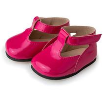 pop-accesoire schoenen meisjes textiel/kunstleer roze