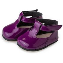 pop-accesoire schoenen meisjes textiel/kunstleer paars
