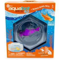 speelfiguur haai Aquabot 2.0 junior 9 x 7 cm paars 4-delig