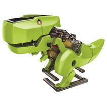 robot dino 3 in 1 solar junior 21 x 18 cm groen