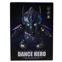 robot Dance Hero junior 18 cm ABS blauw/zwart