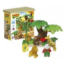 bouwblokken safari 18-delig