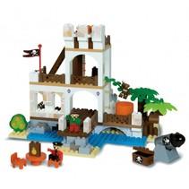 bouwset piratenfort 181-delig