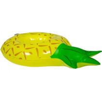 bekerhouder ananas 27 x 16 cm vinyl geel/groen