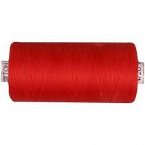 naaigaren katoen rood 1000 meter