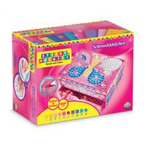 juwelendoos sticky Mosaics vlinder junior roze